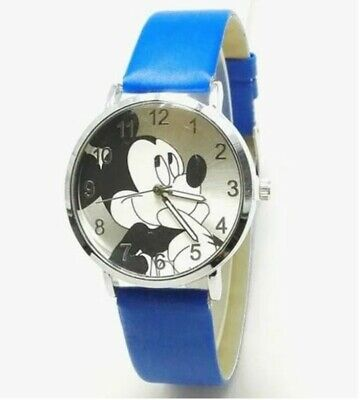 $ CDN19.41 • Buy Women's Mickey Mouse Bangle Quartz Watch.  With A BLUE  Band. New.