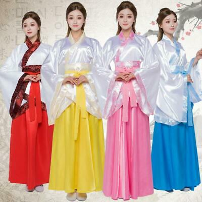 Chinese Style Hanfu Cosplay Costume Fairy Clothes Women Stage Dance Dress • 18.58£