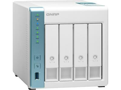 $ CDN379.99 • Buy QNAP 4-Bay Personal Cloud NAS For Backup And Data Sharing 4-core 1.7GHz 1GB RAM