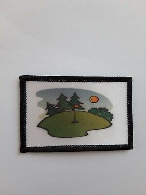 3  Golf Kit Bag Clothing Sports Iron / Sew On Patch  • 3.85£