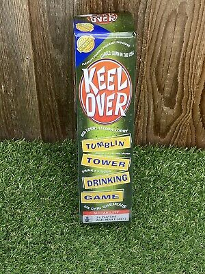 Keel Over Yellow Lorry Tumbling Tower Drinking Game Six Chick Sheikhs Game. • 9.49£