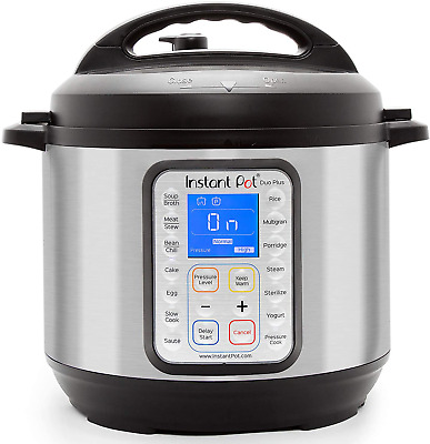 $228.72 • Buy Instant Pot Duo Plus 9-in-1 Electric Pressure Cooker Sterilizer Slow Cooker New
