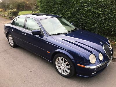 Jaguar S Type 4.0 V8 In Blue Metallic With Cream Leather Lhd Left Hand Drive • 2,250£