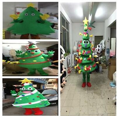 Christmas Tree Mascot Christmas Costume Suits Cosplay Dress Outfits Advertising@ • 123.85£