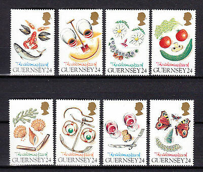 GUERNSEY SG663-670 1995 GREETINGS Unmounted Mint • 2£