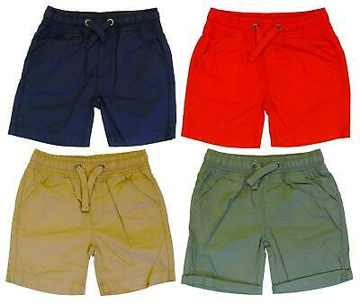 £5.99 • Buy Boys Shorts Ex Mothercare Cotton Summer Short (4 Colours) 3 Months To 10 Years