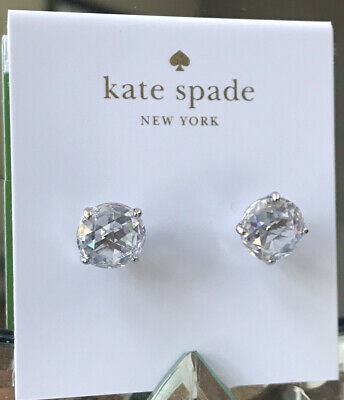$ CDN32 • Buy Kate Spade New York Silver Stud Crystal Earrings