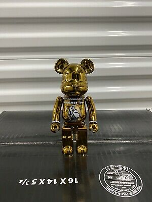 $100 • Buy American Express (Gold) Chogokin [USED STORE DISPLAY] 200% Be@rbrick Bearbrick