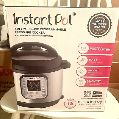 $55 • Buy Instant Pot Duo 7 In 1 Multi Use Pressure Cooker 6 Quart NEW IN BOX