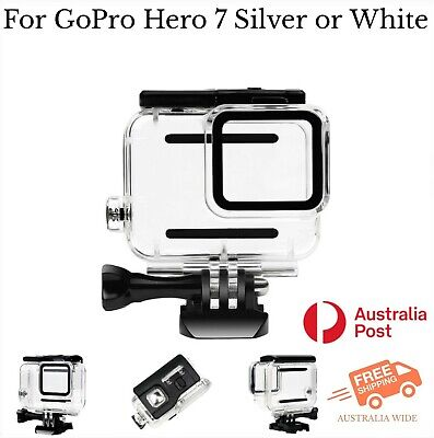 $ CDN30.83 • Buy Waterproof Housing Case For GoPro Hero 7 Silver & White Tested To 45m AU Stock