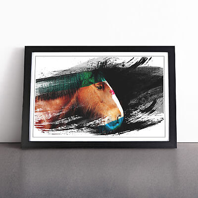 Shire Horse V2 Framed Print Art Picture Home Décor • 18.95£