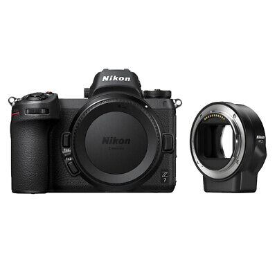 $2843.90 • Buy Nikon Z7 Mirrorless Digital Camera (Body) With FTZ Mount Adapter