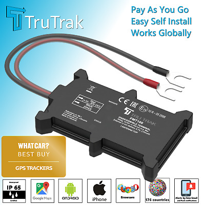 TruTrak GPS Tracking Device - Van Motorbike Caravan Car Tracker - Pay As You Go • 44.09£