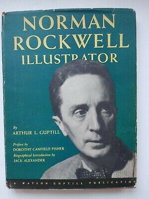 $ CDN382.08 • Buy Norman Rockwell Illustrator Book Autographed Also Provenance And Photo