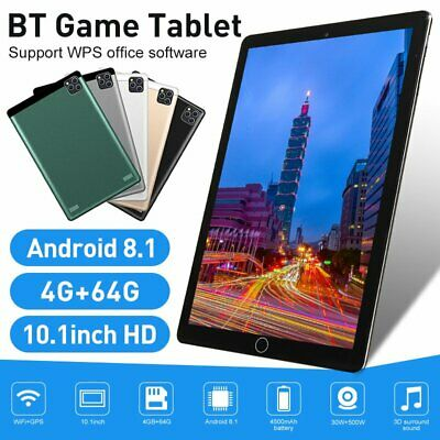 AU122.99 • Buy 1080P Tablet 10.1 Android 10.0 10+512GB Bluetooth WiFi GPS Tablet Dual Camera AU