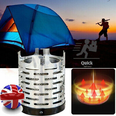 £14.29 • Buy Portable Heater Cover Camping Equipment Warmer Outdoor Mini Tent Heating Stove