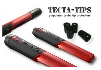 4 TECTA-TIPS Probe Tip Protectors XP Mi4 And Mi6 Wireless Pinpointers • 5.50£
