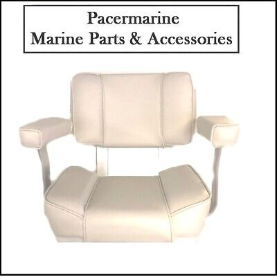 Captain Helm Seat White • 189.95£