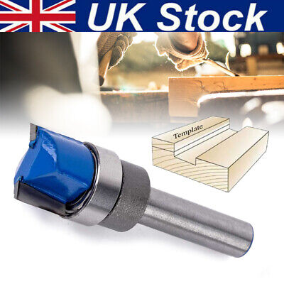 1/4Inch Shank Hinge Mortise Template Router Bit Wood Working Trim Milling Cutter • 5.49£