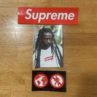 $ CDN26.80 • Buy Supreme Stickers Lot Pack Of 3 Authentic Box Logo New Free Shipping