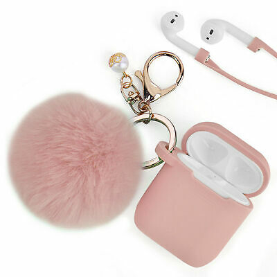 $ CDN9.08 • Buy 1Pc For Apple Airpods Charging Case 2&1 Earphone Airpod Cover With Key Pompom
