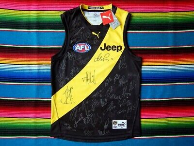 AU1499.99 • Buy ✺Signed✺ 2017 RICHMOND TIGERS Premiers Jumper AFL Issued COA Guernsey Jersey