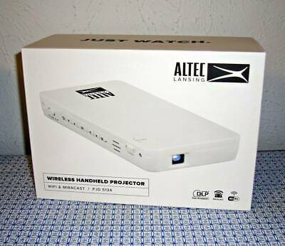 Altec Lansing Pjd 5134 Wvga Dlp Iphone/android Wireless Handheld Pico Projector • 321.15£