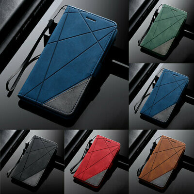 $ CDN7.39 • Buy For Samsung S10 Lite S20 FE S21 Ultra Leather Wallet Flip Stand Phone Case Cover