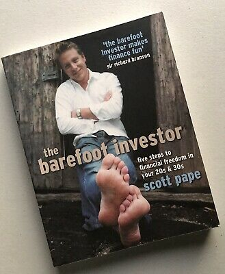AU19.95 • Buy The Barefoot Investor 5 Steps To Financial Freedom In Yr 20s & 30s By Scott Pape
