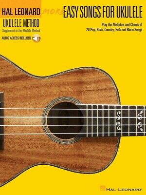 AU35.95 • Buy HL Ukulele More Easy Songs Book/Online Audio (Softcover Book/Online Audio)