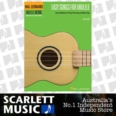 AU20.35 • Buy HL Ukulele Easy Songs Book Only (Softcover Book)