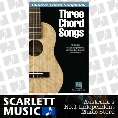 AU35.95 • Buy Ukulele Chord Songbook Three Chord Songs (Softcover Book)