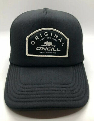 $15 • Buy Original O'Neill 1959 Cap Hat Adult Trucker Mesh Snapback Black Polyester
