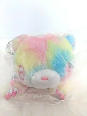 UK Chax GP Gloomy Bear Plush Rainbow Fantasy Fur Pastel 40cm SMILE Japan NEW • 39.50£