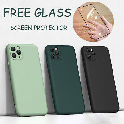 Case For IPhone 11 Pro Max 7 8Plus X XS Max XR Shockproof Liquid Silicone Cover • 3.99£