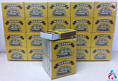 Boxes Of Ship Safety Matches Camping Candles Cooking 32 Matches Per Box • 1.79£