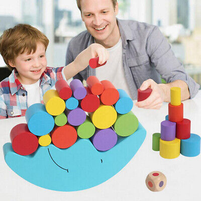 AU13.99 • Buy 1 Set Baby Children Toys Moon Balance Game And Games Toy For 2 4 Year Old M7T4