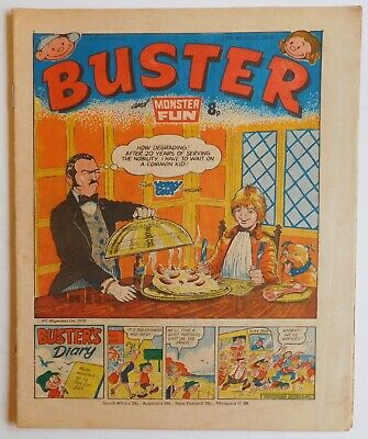 BUSTER & MONSTER FUN Comic - 12 August 1978 • 2.99£