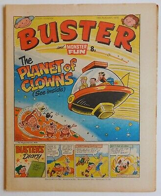 BUSTER & MONSTER FUN Comic - 19 August 1978 • 2.99£