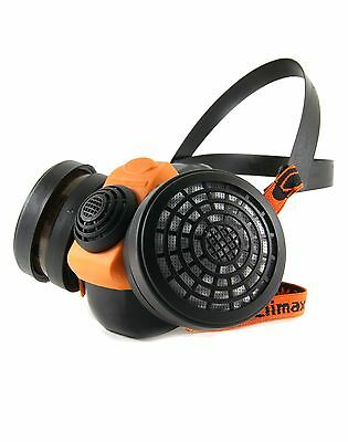 Climax 756 Respirator Half Face Mask C/w Double P3 Filters • 18£