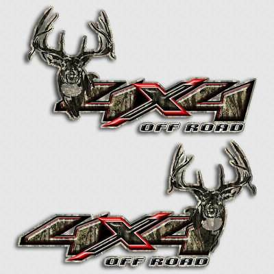 $29.99 • Buy 4x4 Truck Camouflage Decal Deer Hunting Sticker For Chevy Dodge Mathews Hoyt PSE