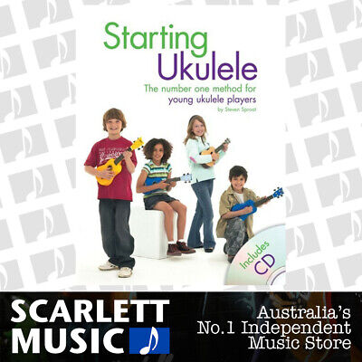 AU21.32 • Buy Starting Ukulele Book/CD (Softcover Book/CD) Book
