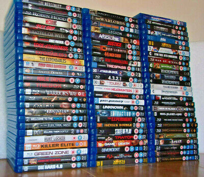 Action Thriller Selection Clearance (Blu-ray) **Buy 2 For £4.99** + Free Postage • 2.97£