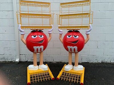 $150 • Buy M&M Red Floor Model Store Display Double Wire Tier (removable)