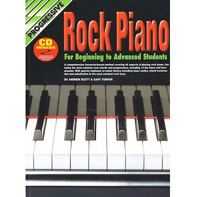 Digital Piano - Electric Piano - Keyborad - Learn To Play Rock Piano Book - H8 • 18.76£