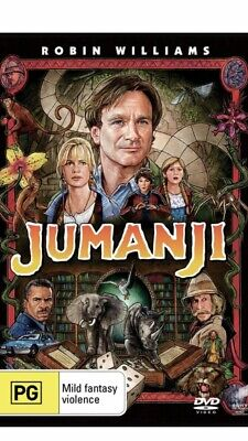 AU12 • Buy Jumanji DVD Region 4 NEW