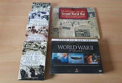 First And Second World War Books And DVDs • 20£