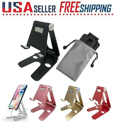 $5.49 • Buy Cell Phone Fordable Desk Stand Holder Mount Cradle Dock IPhone Galaxy Switch