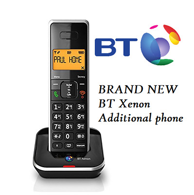 BT Xenon 1500 Additional Handset & CHARGER + BATTERIES • 129.99£