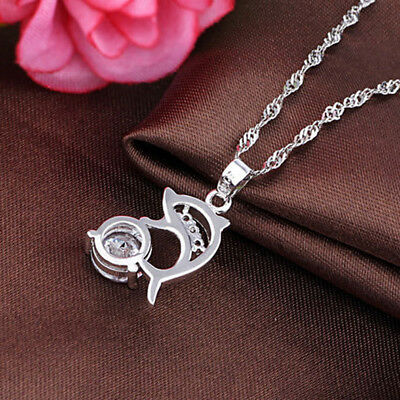 AU5.30 • Buy Simple Women Dolphin Pendant Necklace For Women Fashion Jewelry Necklace WL